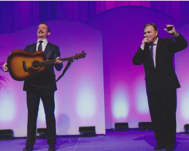 John McKenzie And Chris Hadfield