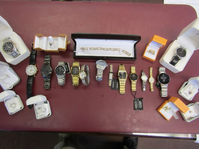 Online Auction – Jewellery & Watches Closes Mon Sept 12 @ 12 Noon