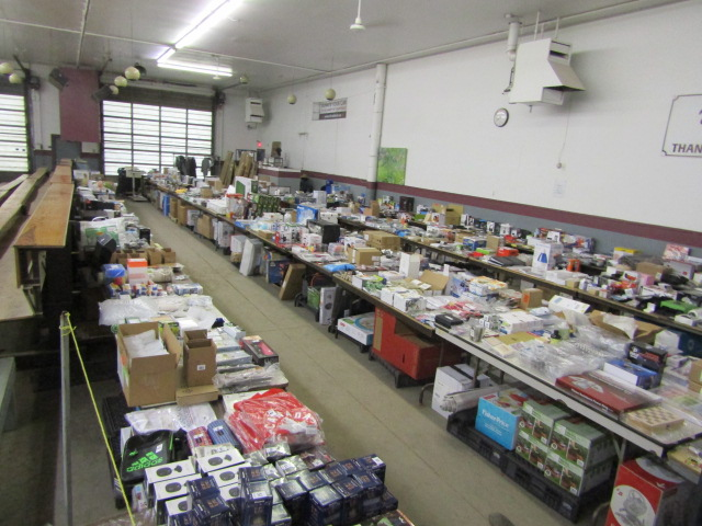 Online Auction Returned Merchandise – Closes Feb 6 @ 6 pm