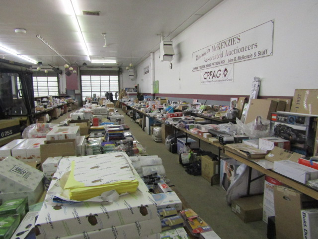 Online Auction Returned Merchandise – Closes Feb 7 @ 6 pm
