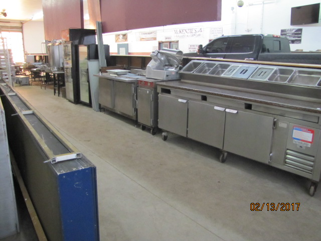 Online Auction – Restaurant Equipment Closes Wed Mar 1 @ 12 Noon